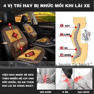 Đau lưng khi ngồi lái xe