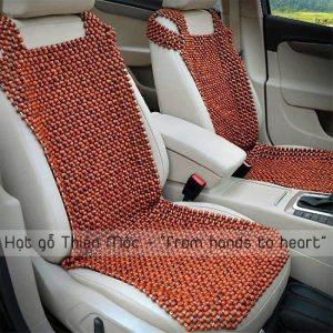 Đệm ghế ô tô hạt gỗ Hương