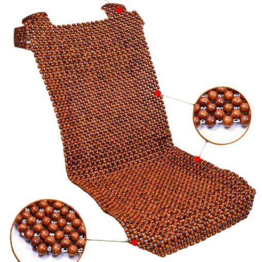 Đệm hạt gỗ ô tô giá rẻ