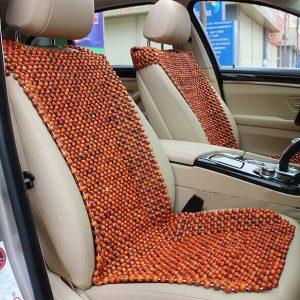đệm lót ghế ô tô hạt gỗ hương cao cấp