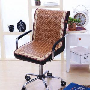 đệm lót ghế văn phòng hạt gỗ cao cấp