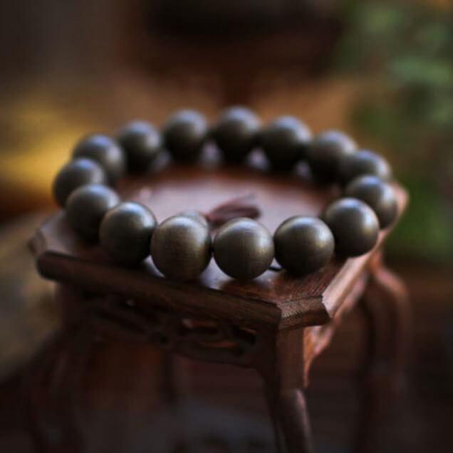 Vòng tay trầm hương 15 hạt