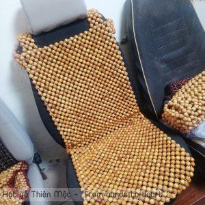 Đệm ghế hạt gỗ Pơmu cao cấp