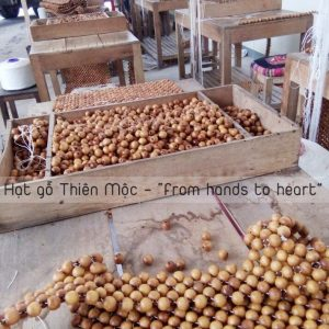 Đệm ghế hạt gỗ Pơmu giá tại xưởng