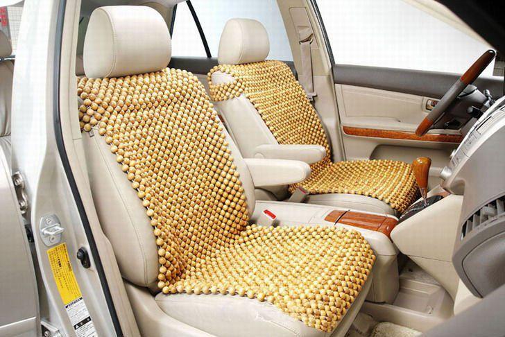 5 lý do sử dụng đệm lót ghế ô tô hạt gỗ