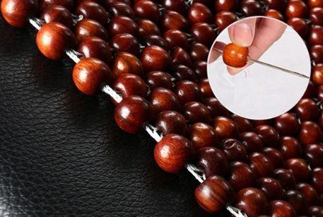 Hệ thống hạt gỗ tròn massage vùng lưng vai gáy
