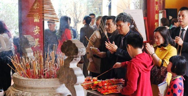 Phong tục đi Chùa đầu năm dịp lễ Tết