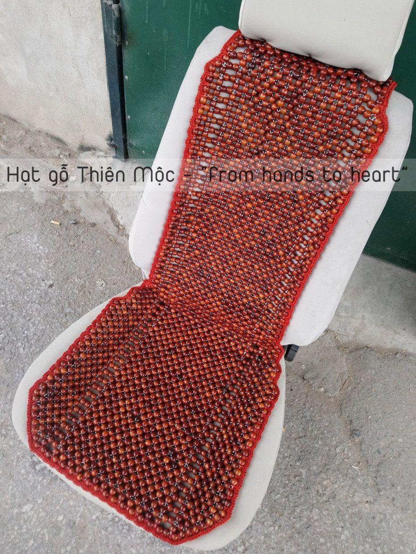 Đệm ghế hạt gỗ Hương cao cấp