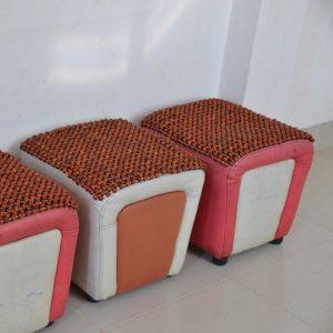 Đệm ghế văn phòng hạt gỗ giá rẻ