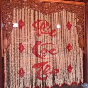 Rèm phòng thờ Phúc Lộc Thọ